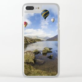 Lake Flight Clear iPhone Case