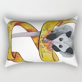 Not dead... just sleeping... Rectangular Pillow