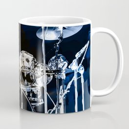 DRUMS BLUE AND GOLD Coffee Mug