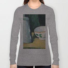 1877 - Paul Cezanne - Bowl and Milk-Jug Long Sleeve T-shirt
