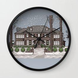 Home Alone Christmas Wall Clock
