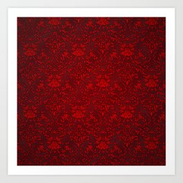Victorian Blood Art Print