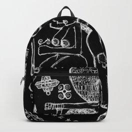 2013 Goddess of Balance (black design) Backpack