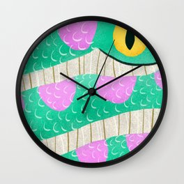 Kaa Wall Clock