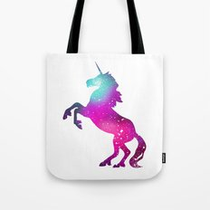 galaxy unicorn Tote Bag