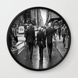 3 Old Men Wall Clock