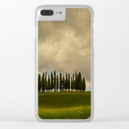 Postcards from Toskany Clear iPhone Case