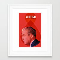 vertigo Framed Art Prints featuring Vertigo  by Oh! My darlink