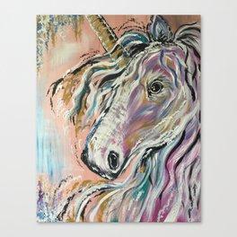 Serene Unicorn Canvas Print