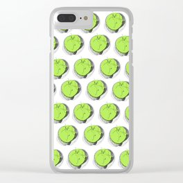 Green apple Clear iPhone Case