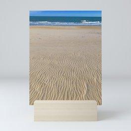 no footprints Mini Art Print