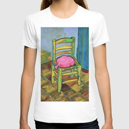 Van Gogh Chair with Whoopi Cushion T-shirt