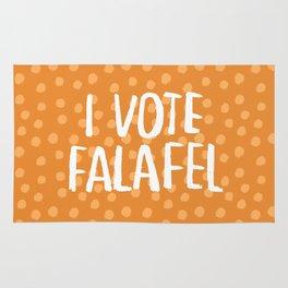 I Vote Falafel Rug