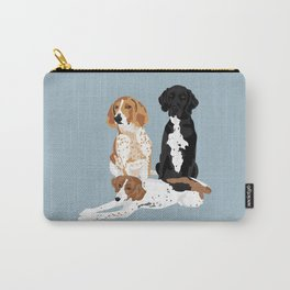 Elvis, Judd and Glory Bea Carry-All Pouch
