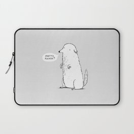 Pretty Please? Laptop Sleeve