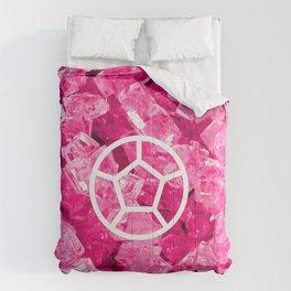 Rose Quartz Candy Gem Comforters