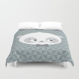 Monsieur Panda Duvet Cover
