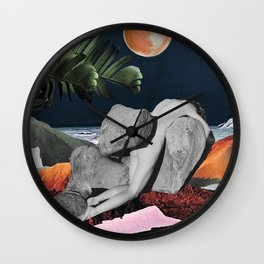 Lost in Paradise Wall Clock