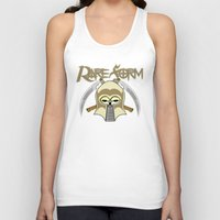 rare Tank Tops featuring RARE FORM by DaeSyne Artworks