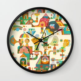 The Chipper Widget Wall Clock