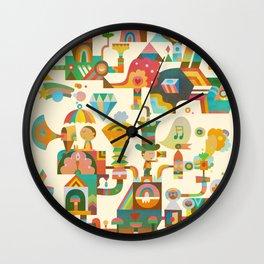 The Chipper Widget Wall Clock