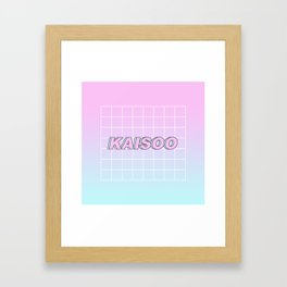 KAI SOO #1 Framed Art Print