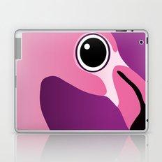Cute Flamingo Portrait Laptop & iPad Skin