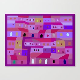 Ecatepec de Noche Canvas Print