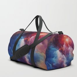 Misterious Space Duffle Bag