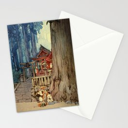 Yoshida Hiroshi - A Misty Day In Nikko - Digital Remastered Edition Stationery Cards