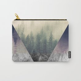 Inverted Forest Carry-All Pouch