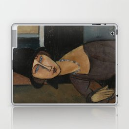 Modigliani - Jeanne Hebuterne With Hat And Necklace Laptop & iPad Skin