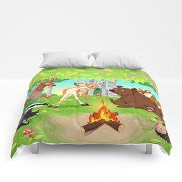 Woodland Campfire Comforters