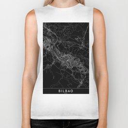Bilbao Black Map Biker Tank