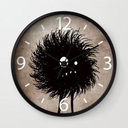 Evil Bug Wondering Wall Clock