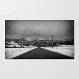 Depart Canvas Print