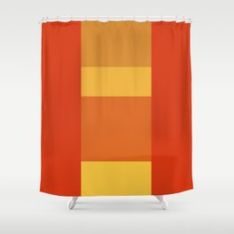 Tequila Sunrise No. 1 Shower Curtain