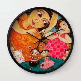 """""""My Mom Is Fun"""" Wall Clock"""
