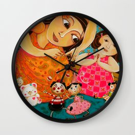 """My Mom Is Fun"" Wall Clock"
