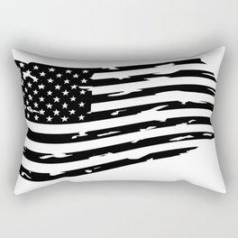 USA Flag, American flag - Distressed american flag, USA flags. Clip art, Art Print Rectangular Pillow