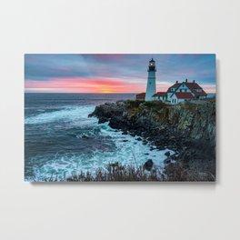 Portland Head Lighthouse   Maine   Travel Photography   Landscape Photography    Metal Print
