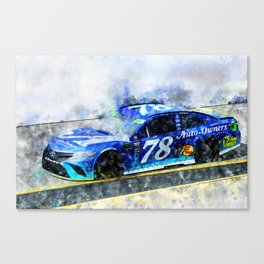 Martin True junior Canvas Print
