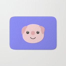Cute kawaii Pig head Bath Mat