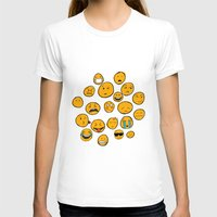emoji T-shirts featuring Emoji Family by Jason Travis