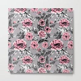 Romantic flowering in the garden Metal Print