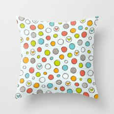 Another pattern with hearts. Throw Pillow