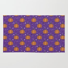 Pumpkin pattern Rug