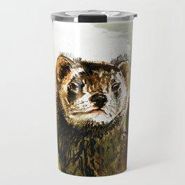 European Polecat Travel Mug