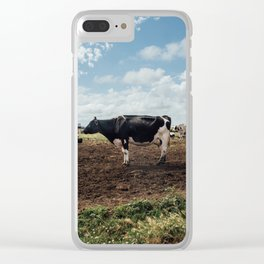 from the earth Clear iPhone Case