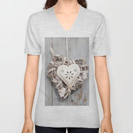 Sweet Heart | Amoureux Unisex V-Neck
